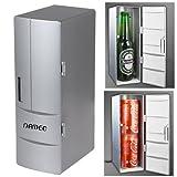 NAMEO Mini USB Fridge, Plug & Play Beverage Drink Cans Cooler...