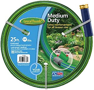 product image for TEKNOR-APEX COMPANY 156 356 Thumb Nylon Garden Hose, 5/8-Inch by 25-Feet, Green