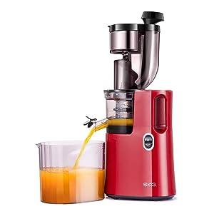 SKG Slow Masticating Juicer Chute Cold Press Juicer