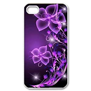 Galaxy Purple Original New Print DIY Phone Case for Iphone 4,4S,personalized case cover ygtg596807