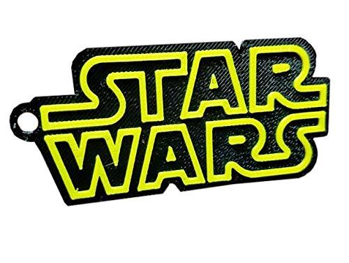 Chaveiro Logo Star Wars Plástico