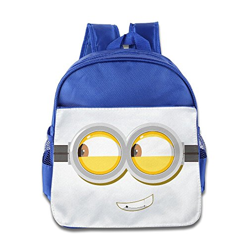 [XJBD Custom Personalized Naughty Min Eyes Kids Children School Bagpack Bag For 1-6 Years Old] (Brad Pitt Costume Ideas)