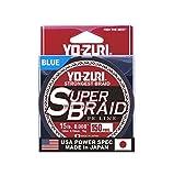 Yo-Zuri Superbraid 150 yd Floating Braid, Blue, 15 lb For Sale