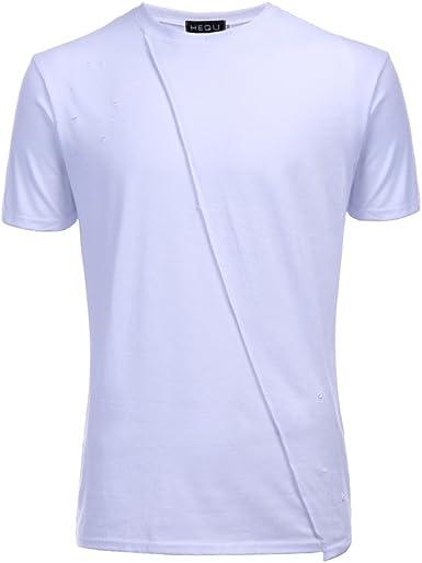 ASHOP - Camisetas Hombre - Summer T-Shirt - Agujeros Ocasionales ...