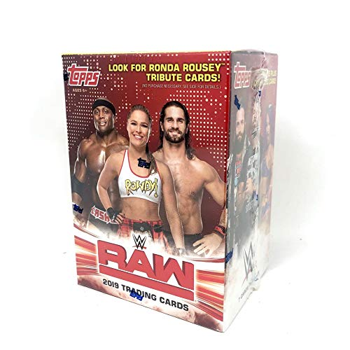 Topps WWE 2019 RAW Box Set (Best Of Raw And Smackdown 2019)