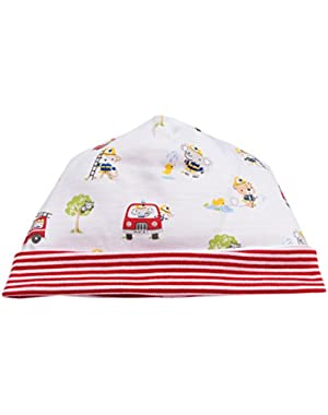 Baby Boys Fire Drill Print Hat