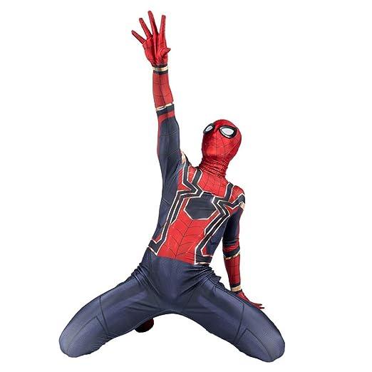 KOUYNHK Spiderman Cosplay Avenger Infinity War Tom Holland ...