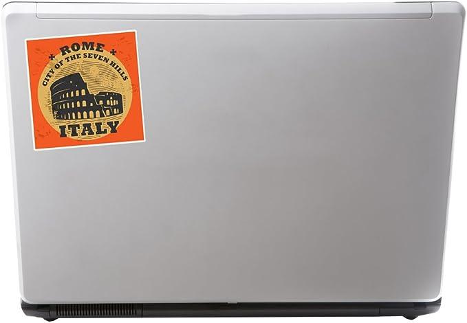 2 x Rome Italy Vinyl Stickers Travel Luggage #7860