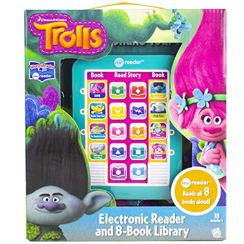 Dreamworks Trolls - Me Reader Electronic Reader 8 Sound Book Library Box Set - PI Kids