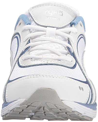 RYKA Damen Sky Walking Schuh Weiß Blau