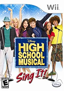 High School Musical: Sing It Bundle with Microphone - Nintendo Wii
