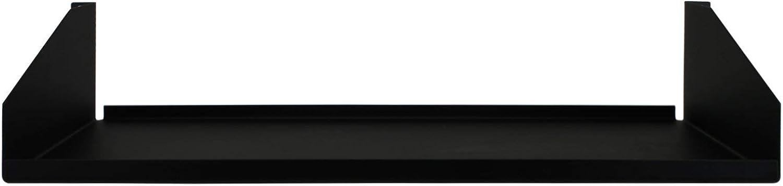 R1194 Rack Shelf Black Steel 2U, Non-Vented
