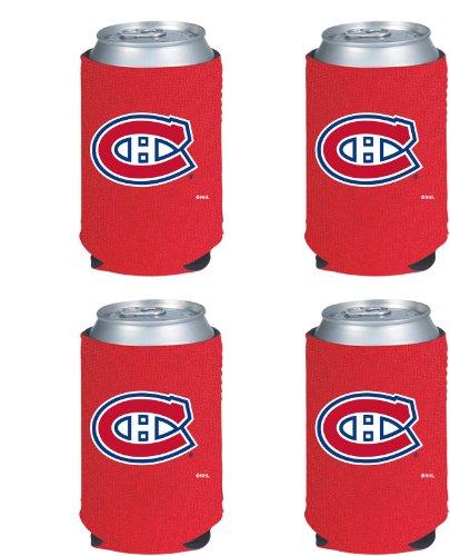 UPC 617258018918, NHL Montreal Canadiens Can Koozie 4 pack