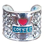Stethoscope CHARM ''Bling your Steth!'' - Color: '' Coffee''