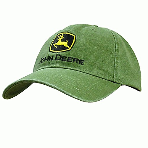 (John Deere Embroidered Logo Baseball Hat - One-Size - Men's)