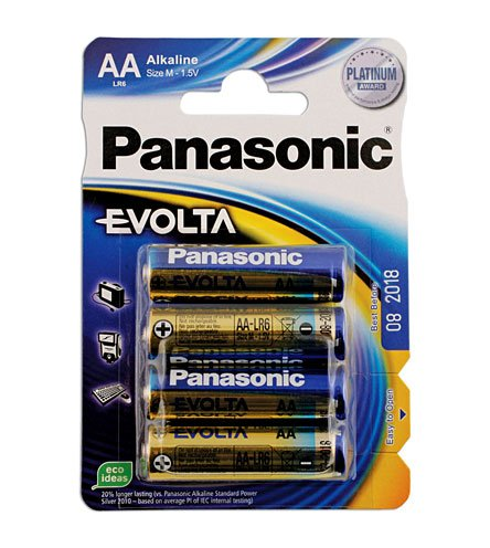Connect - 30646 Evolta AA Battery 12 x 4 Blister Packs by Connect