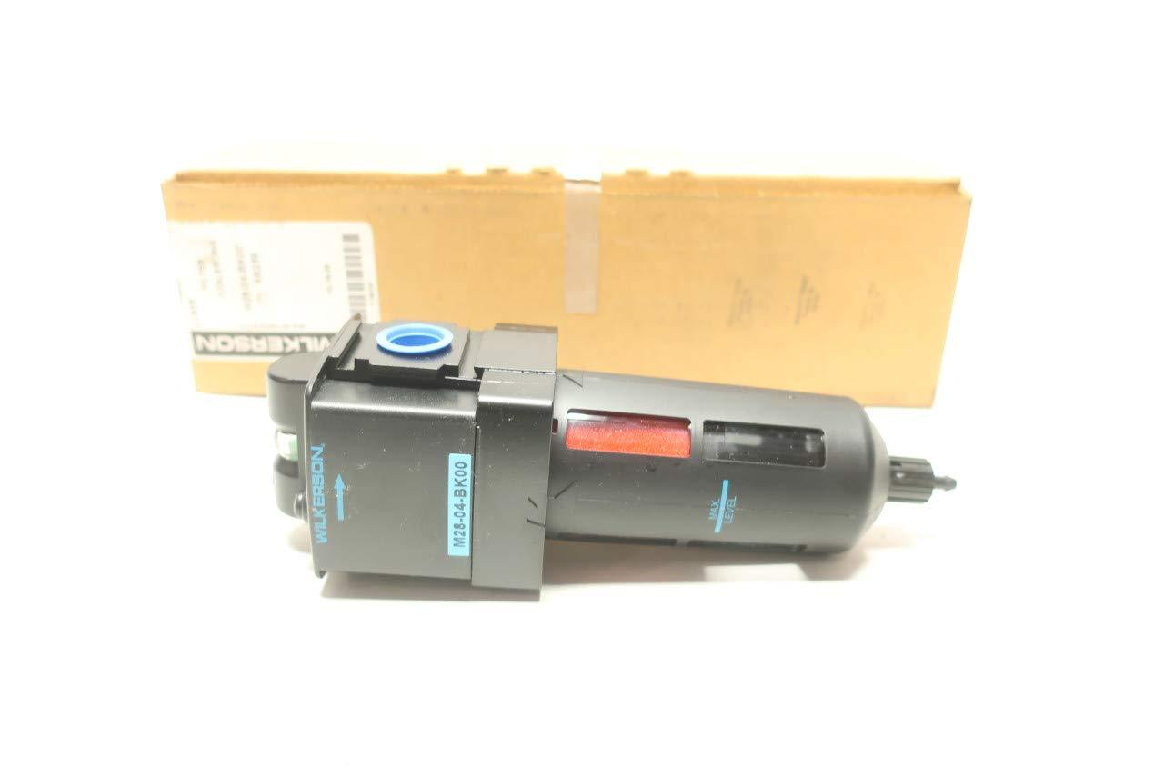 WILKERSON M28-04-BK00 6B259 Pneumatic Filter 1//2IN NPT 150PSI R670418