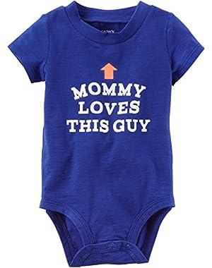 Carter's Baby Boys' Mom Loves This Guy Bodysuit