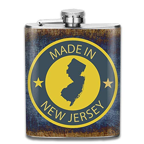 CzxzZd CZZD Made In New Jersey Portable Stainless Steel Flagon Brandy Wine - Brandy Jersey