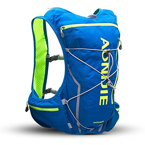 Anj904blue Randonnée Dos 350ml Imperméable Running Sac À Camping 10l Outdoor Ultralight Voyage Aonijie qw8tPRx77
