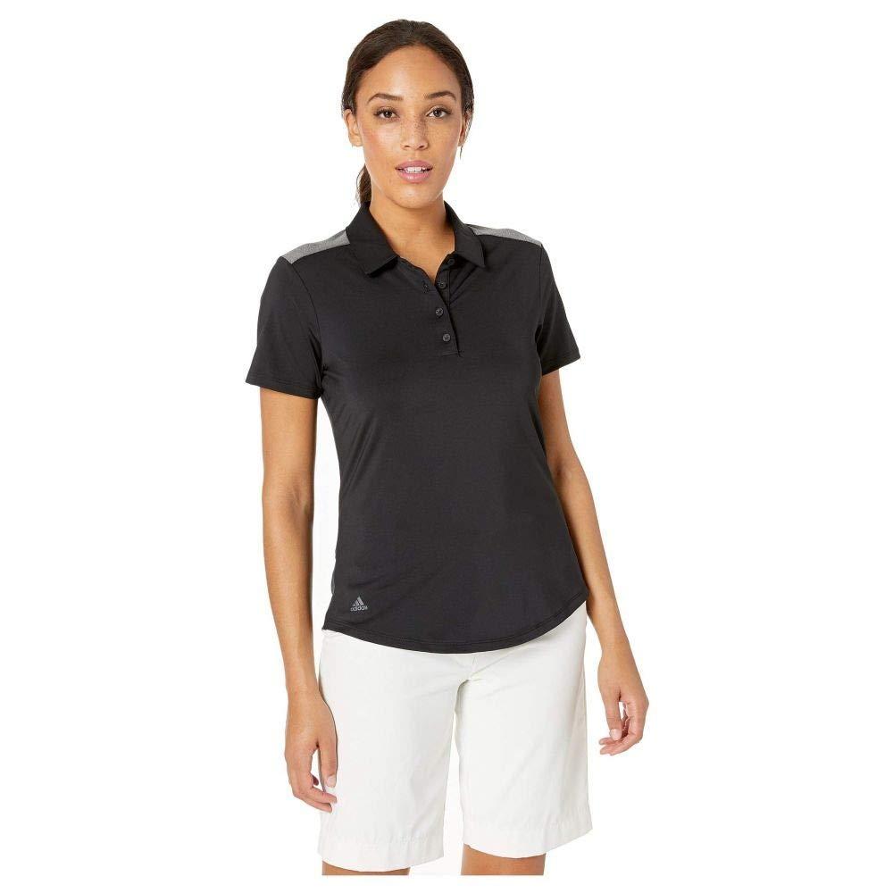adidas Golf (アディダス) レディース トップス ポロシャツ Ultimate Short Sleeve Polo Black 1 サイズLG [並行輸入品]   B07NB3ZW8Y
