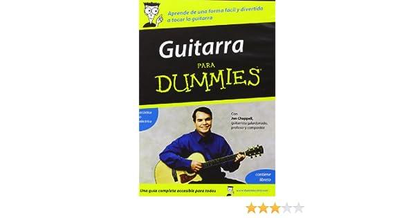 Guitarra Para Dummies [DVD]: Amazon.es: Jon Chappell, Andrea Ambandos: Cine y Series TV