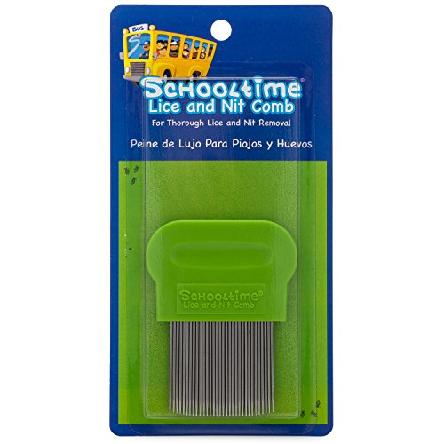 t Comb- Metal Lice Treatment Comb with Ergonomic Handle ()