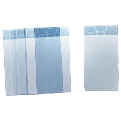 ISIGA - Bolsa para cubitos de hielo, color azul claro ...