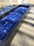 Cheap Everywhere Decorative & Landscape Glass Large 1/2″ Cobalt Reflective Fire Glass 10lbs