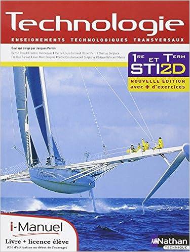 Lire Technologie - Enseignements technologiques transversaux - 1re et Tle STI2D pdf epub