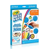 Crayola Color Wonder, Mess Free, Scented Stampers , Mess Free Colouring, Washable, No Mess, for Girls and Boys, Gift for Boys and Girls, Kids, Ages 3, 4, 5,6 and Up, Holiday Gifting, , Stocking Stuffers, Arts and Crafts