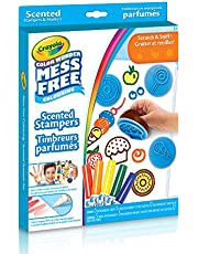 Crayola Color Wonder, Mess Free, Scented Stampers , Mess Free Colouring, Washable, No Mess, for Girls and Boys, Gift for Boys and Girls, Kids, Ages 3, 4, 5,6 and Up, Summer Travel, Cottage, Camping, on-the-go, Arts and Crafts, Gifting
