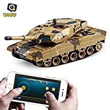 Huanqi No.H500 Bluetooth 2.0 RC Tank Gravity Sensor Shooting Simulated Panzer Toy