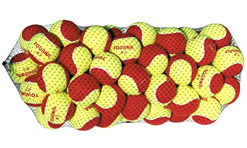 Quickstart Tennis - Tourna Low Compression Stage 3 Tennis Ball (Pack of 60)