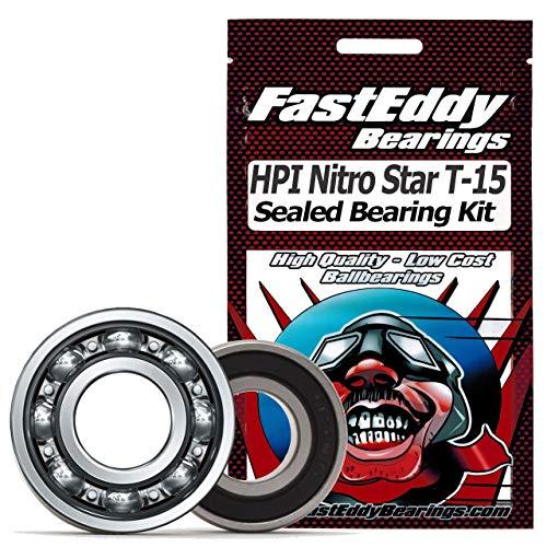 HPI Nitro Star T-15 Pullstart .15 Sealed Ball Bearing Kit for RC -