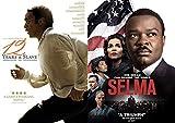 Historically Driven Inspirational Dramas: 12 Years A Slave & Selma 2 DVD Bundle