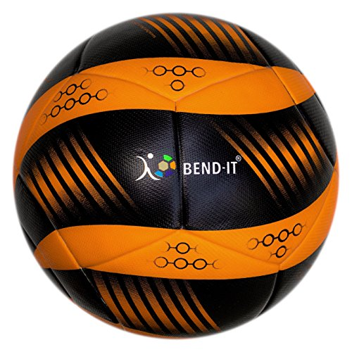 - Bend-It Curl-It Pro Amber Soccer Ball
