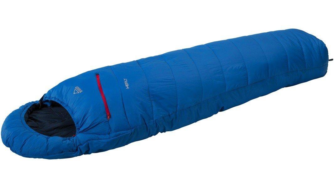 McKinley Saco de dormir con capucha Healy (Izquirda) - azul/marino/rojo - Azul, 190R: Amazon.es: Deportes y aire libre