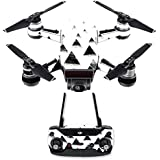 MightySkins Skin For DJI Spark Drone & Controller - Black Hills | Protective, Durable, and Unique Vinyl Decal wrap cover | Easy To Apply, Remove, and Change Styles | Made in the USA