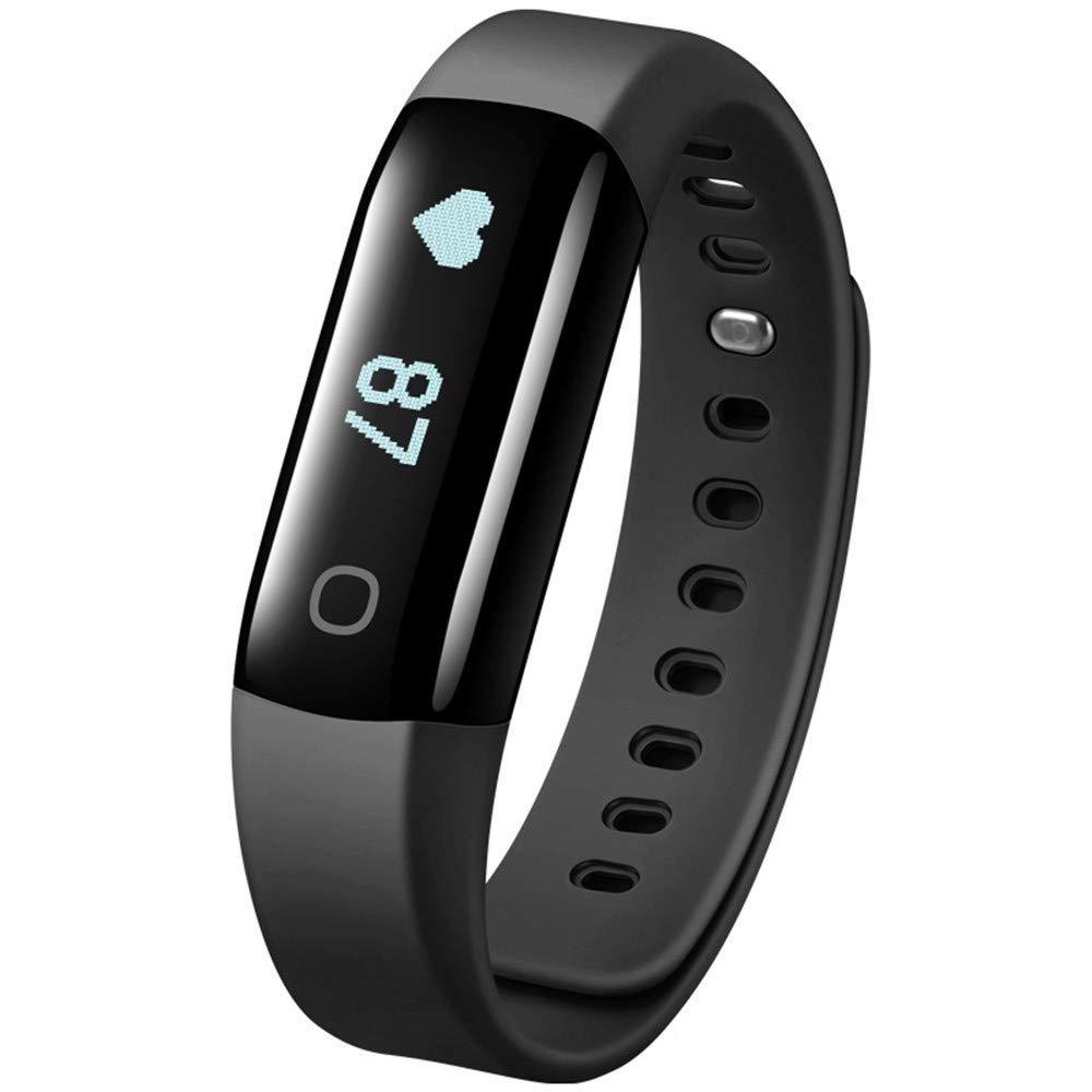 MI-Pedometri Kontinuierliche Herzfrequenz-Überwachung Herzfrequenz Armband Sport Armband Schwimmen Wasserdichte Männer und Frauen Armband