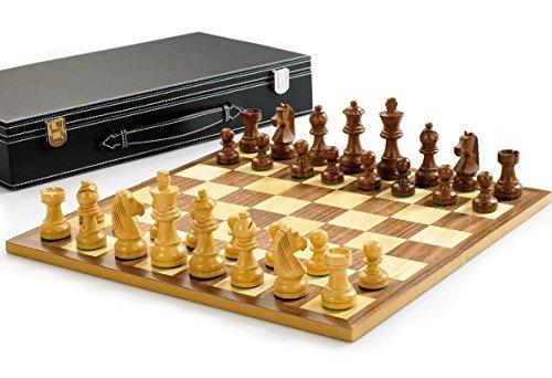 最も完璧な Wooden Chess with set Chess with 3 King by Wooden Gibsons B01L4GVEMG, 富士コンタクト:41b84166 --- cygne.mdxdemo.com