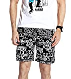 UB-GAILANG Mens Active Trunks Short Bottoms Quick Drying Workout Cargos Sweatpants XS