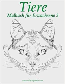 Book Tiere Malbuch für Erwachsene 3: Volume 3