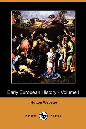 Read Online Early European History, Vol. 1 PDF