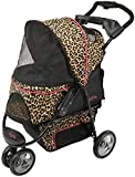 Gen7Pets Promenade Lightweight Compact Pet Stroller for Dogs and Cats up to 50lbs