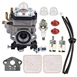 Mannial WYK-186 Carburetor Carb fit Echo PB-260L SRM-260S SRM-261S PPT-260 PPT-261 Power Blower Leaf Blower Shindaiwa 81742 AH242 AHS242 C242 T242X T242 LE242 String Trimmer A021000700