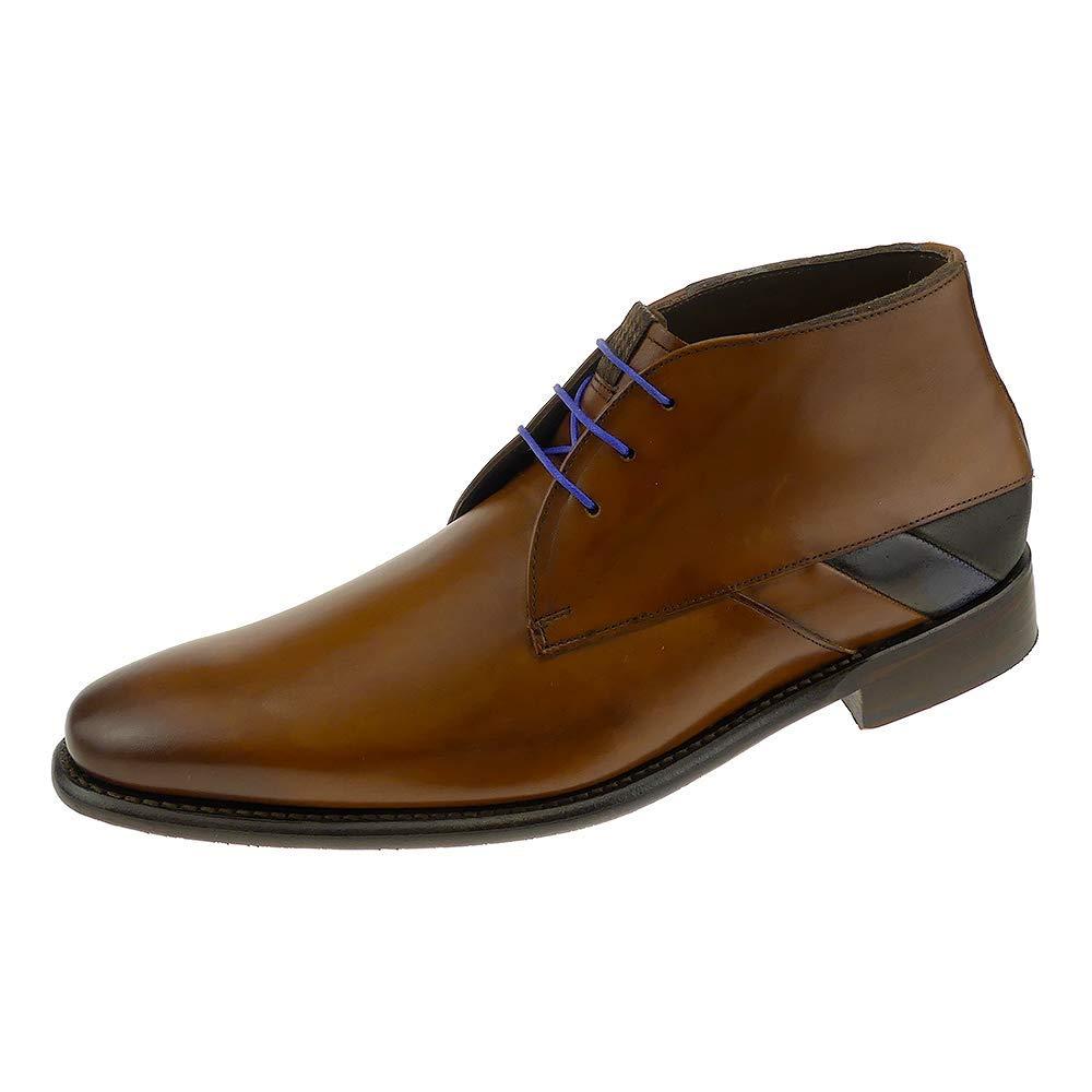 406ea3bfbc Floris van Bommel Men s Lace-Up Flats Brown Dark Cognac 11 UK   Amazon.co.uk  Shoes   Bags