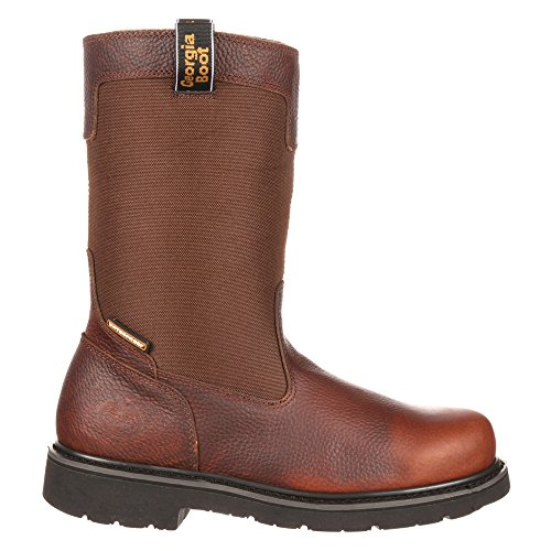 GB00036 Boot 10 Georgia Glennville Brown Boot 10 Wellington Mens Wellington Georgia Mens Georgia Brown GB00036 Glennville 4fqARI