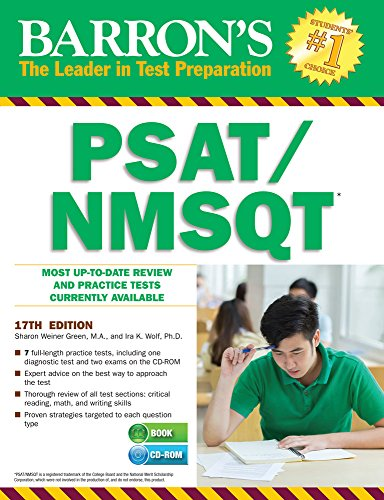Barron's PSAT/NMSQT with CD-ROM, 17th Edition (Barron's PSAT/NMSQT (W/CD))