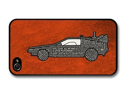 Amaf Accessories Back To The Future Car Marty Mcfly Doc Quotes